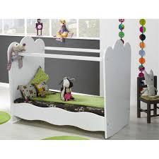 chambre bébé roumanoff k roumanoff lit plexi 60 x 120 cm éa blanc achat vente lit
