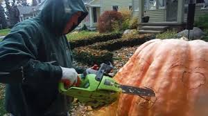 Largest Pumpkin Ever Carved by How To Carve A Giant Pumpkin Youtube