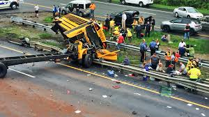 2 Dead, Dozens Hurt In Obliterating NJ School Bus Crash: Sources ... Paramus School Bus Accident Truck In Another Crash 2 Years Ago New Jersey Bus Crash Kills Injures 43 The Latest Time Traffic Alerts West Essex Now Accident Injury Lawyer Two Dead Injured Torn Apart Dump Wreck On Turnpike Leaves Driver Hurt Nbc 10 11815 Nj I95 Black Ice Trailer Flip Youtube Victims Identified Fatal Route 33 Monroe County Dead Dozens Obliterating School Sources Police Id Drivers That Killed Teaneck Family