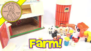 Fisher-Price Vintage Play Family Farm Playset #915 From 1968 - YouTube Vintage 1981 Fisherprice Farm Silo 915 4th Generation Green Joey Arnold Things Steemit Fisher Price Little People Sounds Barn Animals Farmer Playset Timeless Classics Giveaway Fab Toy Lunch Box With Thermos 1962 Price Farm Set On Pinterest Fisher Amazoncom Pop Up Toys Games Early 1960s Circus Ebth 1993 5826 Poppin Pals Tractor Play Family Goodwill Hunting 4 Geeks Pday Friday Week Is A Thing Now Pt1 The Worlds Most Recently Posted Photos By Yelwblossomm Flickr