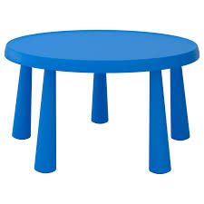 Children's Table MAMMUT In/outdoor Blue
