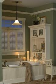 Sophisticated French Country Bathroom Decor Cabinet Whitewashed At Decorating Ideas