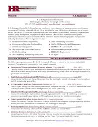 Hr Executive Sample Resume Best Of Manager In India Director Format