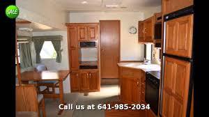 Jayco Designer Fifth Wheel Floor Plans by 1996 Jayco Signature 3310 Fifth Wheel Rear Living Room Youtube