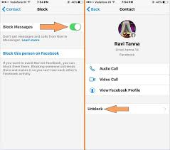 Block messenger call and Text on iPhone iPad