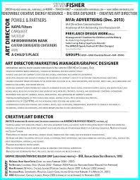 Creative Director Resume Sample Samples Best Resumes Images On Art