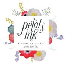 Petals Ink Austin Flowers Florist Logo
