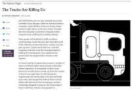 Voices On NYT's 'Trucks Are Killing Us' Column: Readers Respond, ATA ... Cadian Trucking Outdistances Usa Emsi Txdot Research Library Cost Of Cgestion To The Industry Revenue Topped 700 Billion In 2017 Ata Report Americas Foodtruck Industry Is Growing Rapidly Despite Roadblocks How Eld Mandate Affected Visually The Atlanta Information 13 Solid Stats About Driving A Semitruck For Living Future Uberatg Medium Interesting Facts About Truck Every Otr And Cdl Trends 2018 Cr England Transportation Canada 2016 Transport
