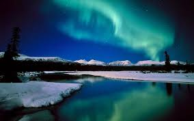 blue northern lights Places I d Like to Go