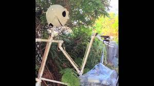 Homemade Animatronic Halloween Props by Halloween 2013 Animatronic Jack Skellington Youtube