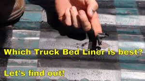 Which Truck Bed Liner Is Best? Let's Find Out! - YouTube 6 Best Diy Do It Yourself Truck Bed Liners Spray On Roll Fj Cruiser Build Pt 7 Liner Paint Job Youtube Loft Cheap Diy Storage Building Waterproof Ideas Drawers 11 Pickup Hacks The Family Hdyman Mat W Rough Country Logo For 072018 Toyota Tundra Duplicolor Baq2010 Ebay In Bedliner White Raptor Jeep 4k Geiaptoorg Best Spray In Bed Liner Buying Guides Tips And Reviews Amazoncom Bedrug Full Brc07sbk Fits 07 Lvadosierra Bedlinerkit Hashtag On Twitter