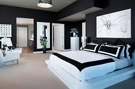 Modern Black White Bedroom Interior Design grapher Zack DMA