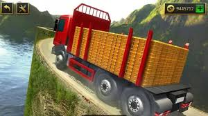 100 Driving Truck Games UPHILL GOLD TRANSPORTER TRUCK DRIVING GAME Android