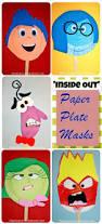 Halloween Half Mask Ideas by Best 25 Paper Plate Masks Ideas On Pinterest Paper Plate Crafts