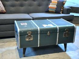 Square Wood Trunk Coffee Table Large Size Of Auto Storage Containers Steamer