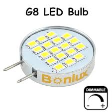 dimmable led g8 bulb light 3 5 watts 180 degree beam angle g8