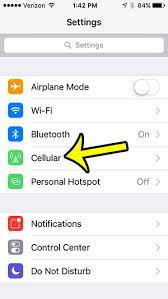 How to Turn f Data Roaming on an iPhone 5 Live2Tech