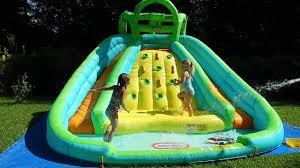 BEST WATER SLIDE FUN LITTLE TIKES Inflatable Pool Kids Summer BIG