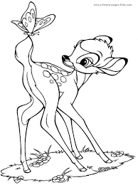 Bambi Coloring Page 9 Is A From BookLet Your Children Express Their Imagination When They Color The