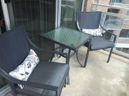 Patio Bistro 240 Assembly Instructions by Mainstays Alexandra Square 3 Piece Outdoor Bistro Set Grey With