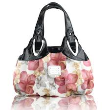 hand bags with full flowery looking the elegant artistic and