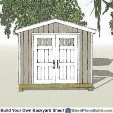 12x12 Backyard Shed Plans