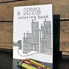 New York City Coloring Book Ready To Ship By WindowsOfAgate 500