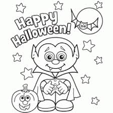 Halloween Free Printable Coloring Pages 12 Page Pdf For Kindergarten