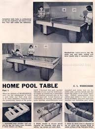 211 pool table plans woodworking plans pool table pinterest