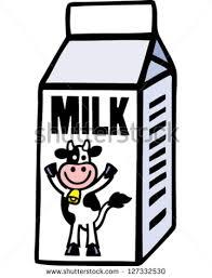 Milk Carton Clipart Black And White & Milk Carton Clip Art Black