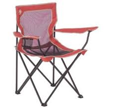 Coleman Camping Oversized Quad Chair With Cooler by Camping Station Coleman Xl Broadband Quad Chair With Mesh