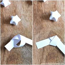 DIY Origami Lucky Star Garland Tutorial An Easy Christmas Thats Fun