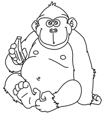 Jungle Animals Coloring Pages Wild Book