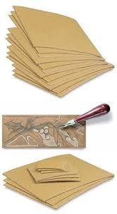 Linoleum 183109 Cut Set 12 Pack Printmaking Carving Sheet Block Printing Sheets Art
