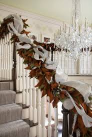 50 Stunning Christmas Staircase Decorating Ideas — Style Estate Christmas Decorating Ideas For Porch Railings Rainforest Islands Christmas Garlands With Lights For Stairs Happy Holidays Banister Garland Staircase Idea Via The Diy Village Decorations Beautiful Using Red And Decor You Adore Mantels Vignettesa Quick Way To Add 25 Unique Garland Stairs On Pinterest Holiday Baby Nursery Inspiring The Stockings Were Hung Part Staircase 10 Best Ideas Design My Cozy Home Tour Kelly Elko