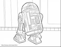 Impressive Star Wars Yoda Coloring Pages With R2d2 Page For