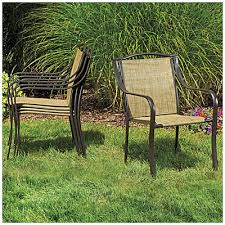 Stacking Steel Sling Patio Chair by Wilson U0026 Fisher Palm Harbor Sling Stack Chair At Big Lots Chairs