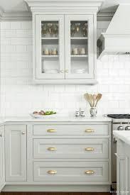 Gray Kitchen Cabinets Colors 80 Cool Kitchen Cabinet Paint Color Ideas