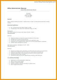 Here Are fice Administrator Resume Medical Administration Resume