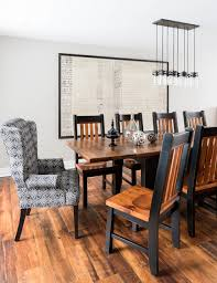 Cozy Country Reno Transitional Dining Room
