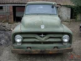 100 Service Trucks For Sale On Ebay 1955 FORD F100 STEPSIDE PICKUP SERVICE TRUCK PROJECT RUNS