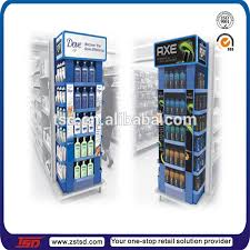 TSD W518 Custom Free Standing Display Stand For Shampooretail Store Fixturesshop
