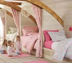 Fit 3 Kids Into A Small Room By Having Custom Built Beds Along Wall