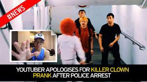 Halloween Scare Pranks Gone Wrong by Youtuber Apologises After U0027killer Clown U0027 Prank Video Goes Viral