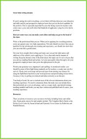 Examples Of Resume Cover Letter What To Include In Fresh For