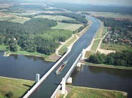 100 Magdeburg Water Bridge The Worlds Longest Navigable Aqueduct