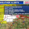Severe thunderstorm watch in effect overnight; showers still possible ...