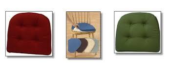Non Slip Gripper Dining Room Chair Cushions