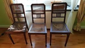6 stühle wiener geflecht walzenstühle stuhl stühle holzstuhl