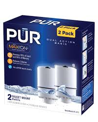 pur faucet mount replacement water filter basic 2 pack pitcher